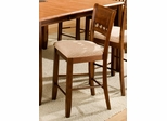 Camden Counter Bar Stool (Set of 2) - Entree by APA Marketing - CAM-17B24RTA-SET
