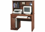 Camden County Computer Desk with Hutch Planked Cherry - Sauder Furniture - 101736