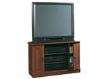 Camden County Corner TV Stand Planked Cherry - Sauder Furniture - 101754