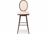 Camelia Swivel Bar Stool with Circular Back - Amisco - 41492-26