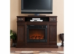 Cameron Glen Media Espresso Electric Fireplace - Holly and Martin