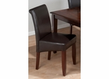 Carlsbad Cherry Chestnut Bonded Leather Chair - Set of 2 - 888-480KD