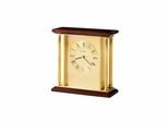 Carlton Table Clock with Quartz Movement - Howard Miller