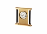 Casey Table Top Alarm Clock in Brass - Howard Miller
