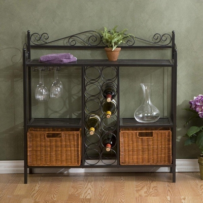 Celtic Bistro Wine Rack - Holly and Martin