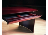 Center Desk Drawer in Mahogany - Mayline Office Furniture - NCDMAH
