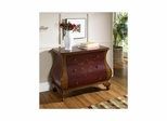 Center Stage Red with Brown Accents Chest - Pulaski