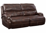 Chandler ll Leather Power Sofa in Florence Mocha - 385231348718
