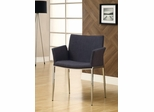 Charcoal Upholstered Dining Chair - Set of 2 - 120722