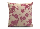 Cherry Blossom Square Pillow - 16 x 16 - IMAX - 42057