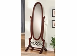 Cherry Cheval Oval Mirror - 900466