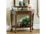 Cherry Marquetry Design Console Table