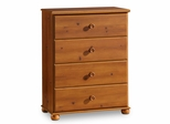 Chest - 4 Drawer Chest in Sunny Pine - South Shore Furniture - 3642034