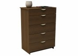 Chest - 5 Drawer Chest - Nocce Collection - Nexera Furniture - 401205
