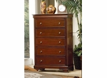 Chest - Versailles Chest in Deep Mahogany - Coaster - 201485