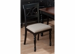Chesterfield Tavern Scroll Back Side Chair - Set of 2 - 293-154KD