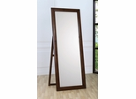 Cheval Mirror - Hillary Floor Mirror in Warm Brown - Coaster - 200647