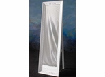 Cheval Mirror in White - Meridian Group - CVH0011