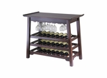 Chinois Console Wine Table - Winsome Trading - 94737