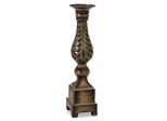 CK Hopkins Medium Ceramic Cutwork Candle Holder - IMAX - 94302