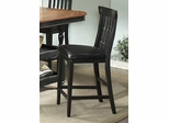 Clear Brook Counter Bar Stool (Set of 2) - Entree by APA Marketing - CBK-BS124RTA-SET