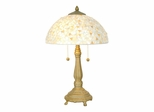 Clear Mosaic Table Lamp - Dale Tiffany