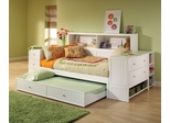 Cody Bookcase Daybed with Trundle/Storage Drawer - Hillsdale Furniture - 1604DBTBD
