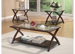 Coffee Table and End Table Set - 3PC - 701527