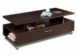 Coffee Table - Eclipse Collection in Espresso - Nexera Furniture - 450407