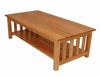 Coffee Table in Medium Oak - Oakridge - 38-2047-008
