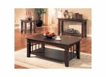 Coffee Table Set in Cherry - Coaster