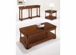 Coffee Table Set in Chocolate Patina