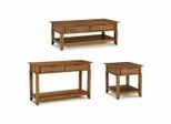 Coffee Table Set in Soft Mahogany - Jamaican Bay