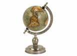 Colombo Small Globe With Nickel Finish Base - IMAX - 73026