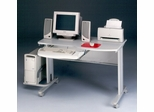 Computer Cart in Gray/Dove Gray - Mayline Office Furniture - 8100TDGRYGRY