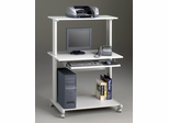 Computer Cart in Gray/ Dove Gray - Mayline Office Furniture - 8350MRGRYGRY