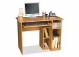 Computer Work Station in Cappuccino Cherry - Basic - Bestar Office Furniture - 90400-68