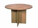 "Conference Table 42"" Round with 1"" Top/Slab X-Base - Correll Office Furniture - C42DM"