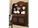 Connor Two-Tone Buffet & Arched Hutch - 104194