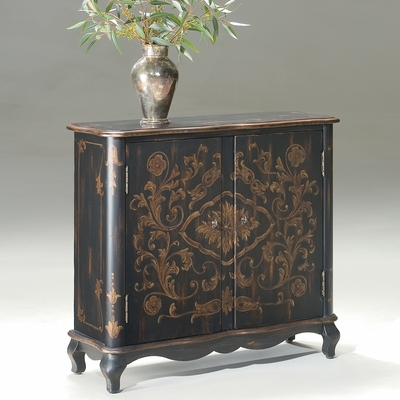Console Chest In Europian Black Butler Furniture Bt 1737177 Bombe Chest Bombay Chest