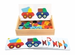 Construction Truck Sort and Match in Multi Color - Guidecraft - G5081