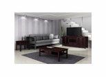 Contemporary Asian Coffee Table Set in Wenge