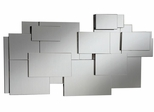 Contemporary Stacked Wall Mirror - 901745