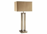 Contemporary Table Lamp in Champagne - Set of 2 - 901434