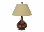 Copper Mosaic Table Lamp - Dale Tiffany