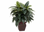 Cordyline with Decorative Vase Silk Plant - Nearly Natural - 6688