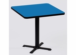 "Corell Breakroom Table -30"" x 30"" x 29"" with 22"" X-Base/Column -BXT30S"