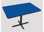 """Corell Breakroom Table -30"""" x 48"""" x 29"""" with Cross Base/Column -BCT3048"""