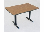 "Corell Breakroom Table -30"" x 60"" x 29"" with T Bases/Columns -BTT3060"