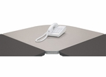 Corner Connector - Series A Pewter Collection - Bush Office Furniture - WC14529